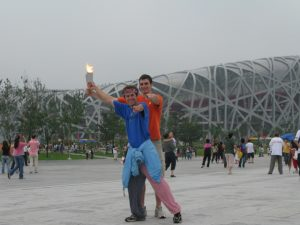 In Beijing just in time for the Olympics!