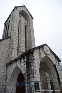 The church in Sapa.