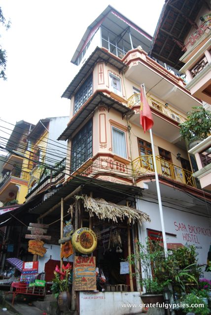 Home for a few nights - Sapa Backpacker's Hostel.