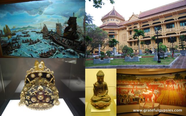 A glance at the Museum of Vietnamese History.