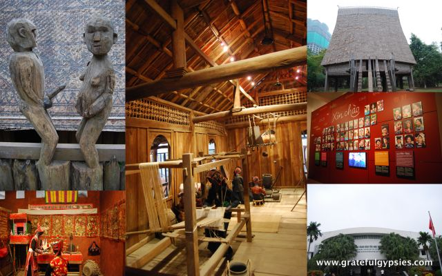 A real highlight of Hanoi - the Museum of Ethnology.