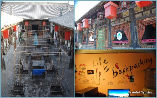 A nice hostel in Pingyao ancient city.