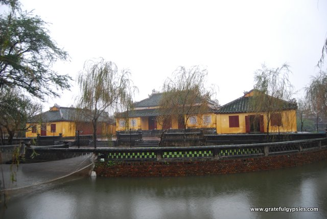 The ancient capital of Hue.