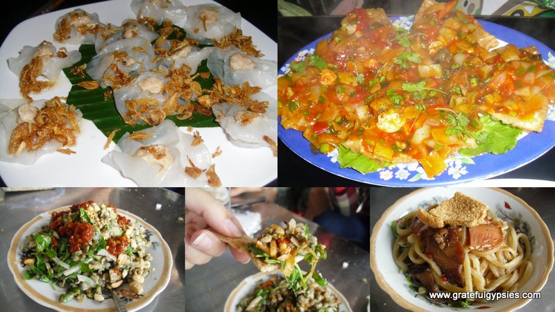 Just a sampling of the fantastic cuisine in Hoi An.
