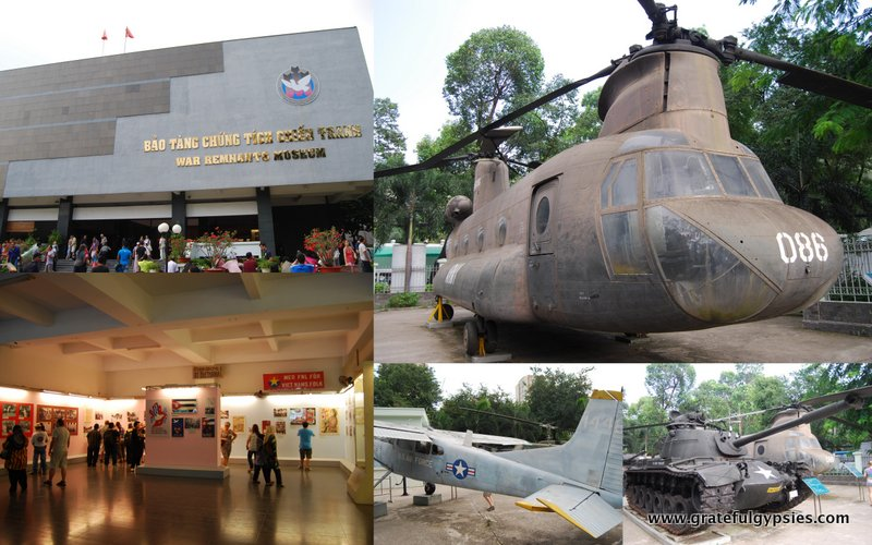 Some scenes from the War Remnants Museum.