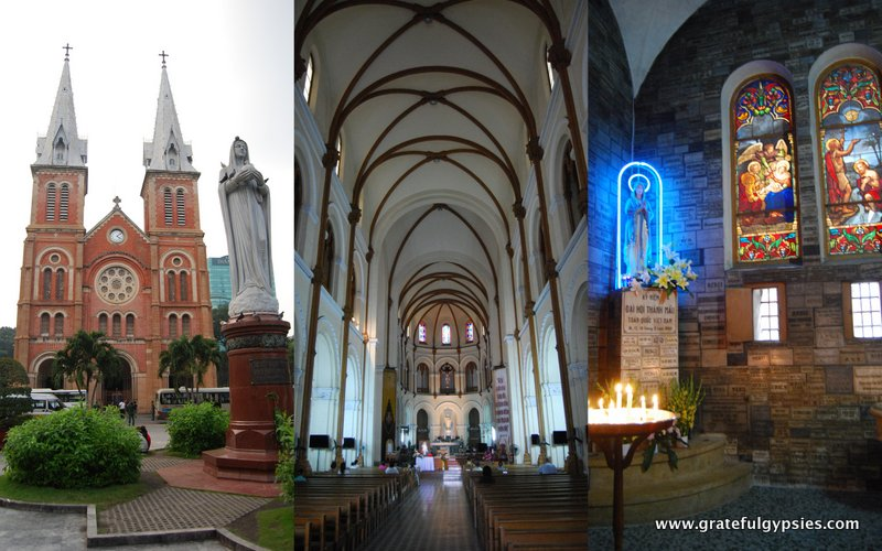 Notre Dame cathedral of Saigon.
