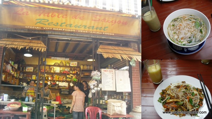 Delicious and cheap food down an alleyway.