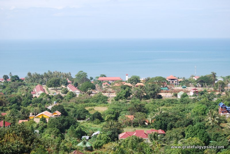Amazing view of Kep from the mountain.