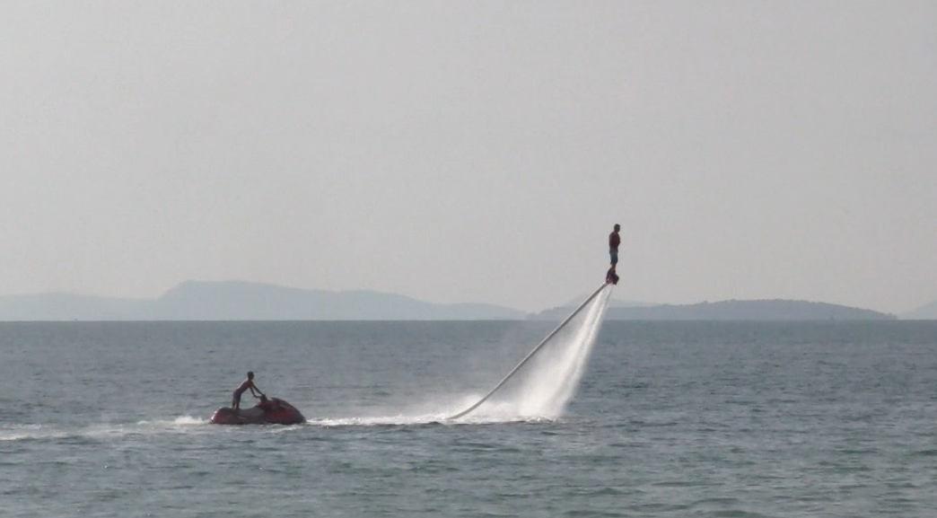 Fly Board; crazy, right?