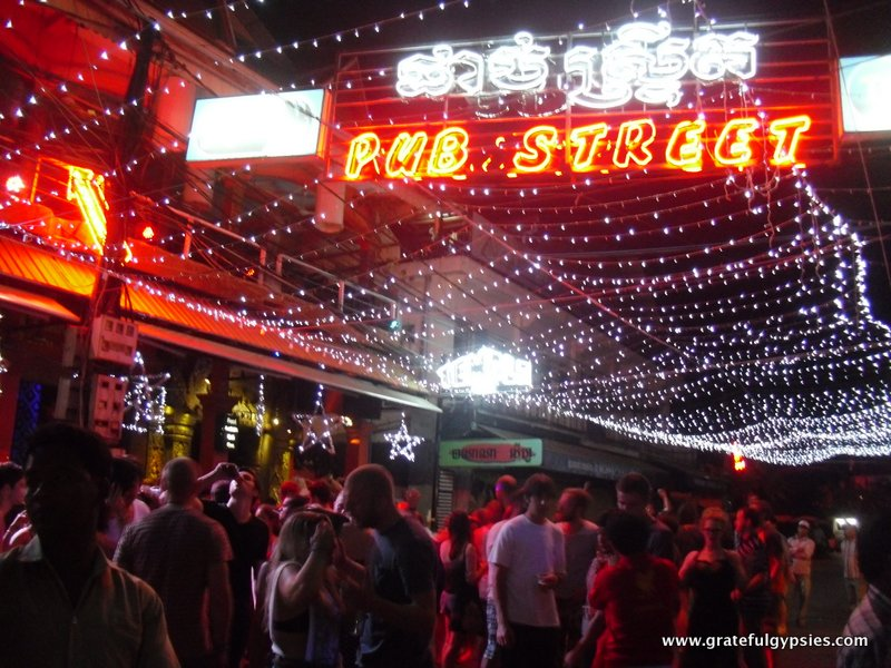 Time to party on Pub Street!