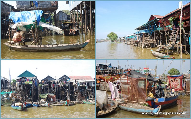 Highlights of the floating village.