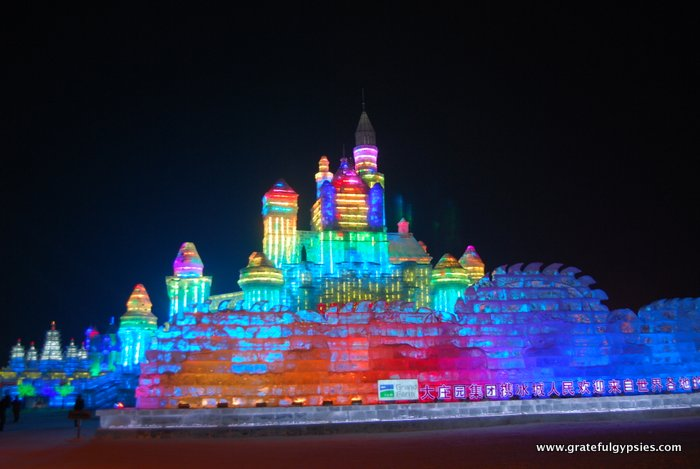 The Ice and Snow Festival in Harbin - a must-see.