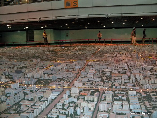 Check out mini-Beijing at the Planning & Exhibition Hall.