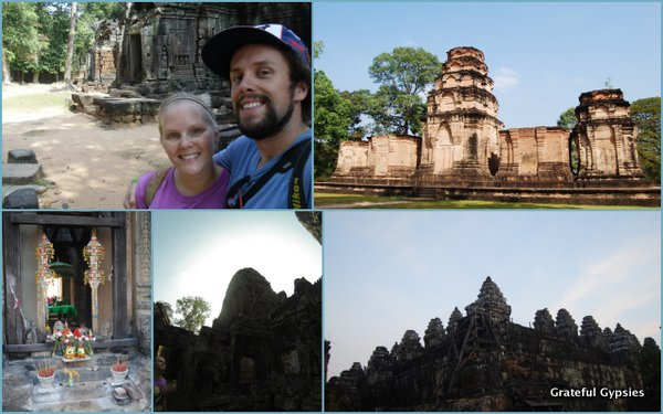 A great first day exploring Angkor.