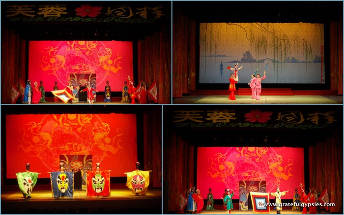 Some scenes from the Sichuan opera.