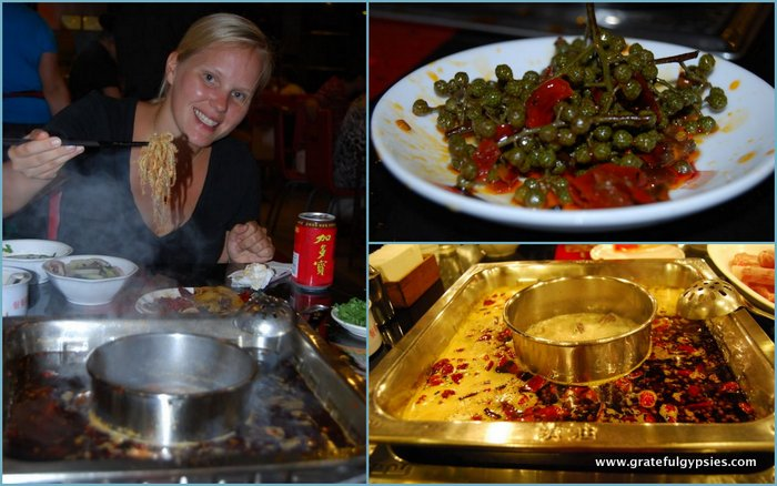 The famous and mouth-numbing Sichuan hot pot.