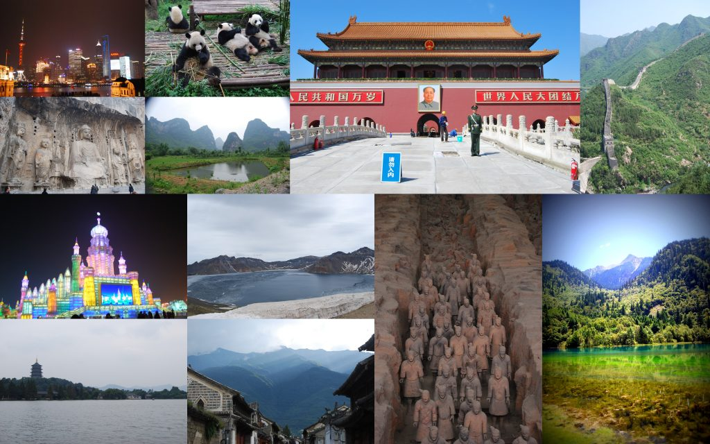 Some of the many highlights of China.