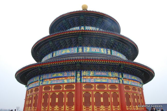 Start your morning at the Temple of Heaven.