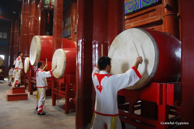 Take in a performance at the Drum Tower.
