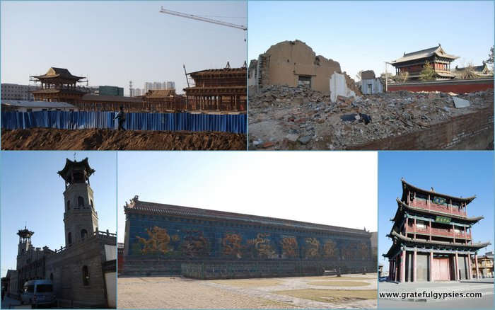 Some scenes of Datong city.