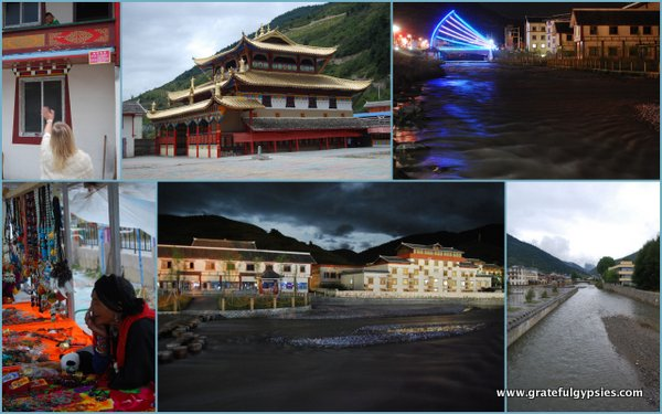 The town of Chuanzhusi in Sichuan province.