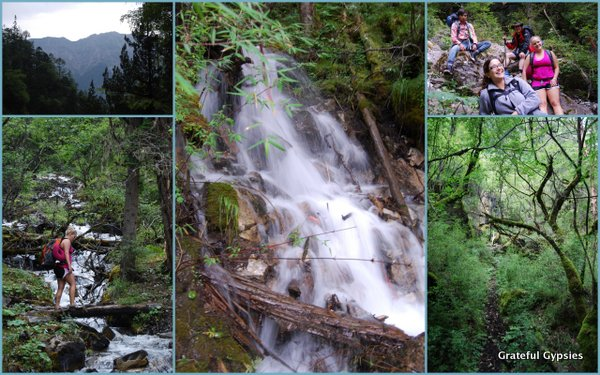 Some scenes from the first day of the hike.