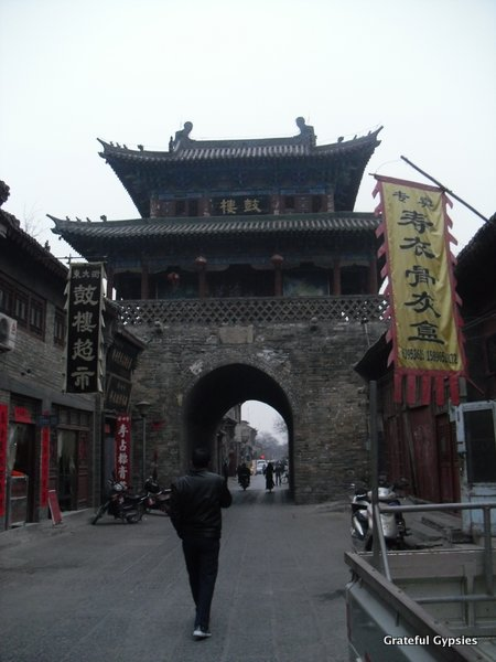 The old Drum Tower of Luoyang.