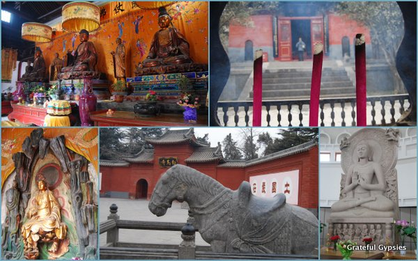 China's 1st Buddhist temple.
