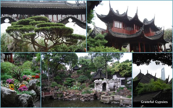 A nice escape from the city - the Yuyuan Gardens.