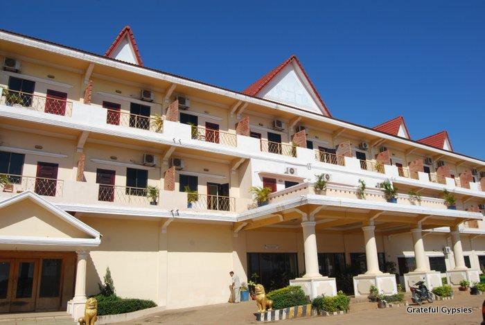 The Mekong Hotel in Kampong Cham.