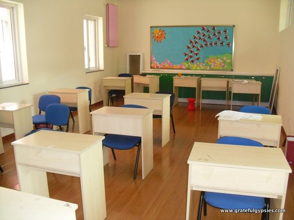 My classroom at Juncheng.