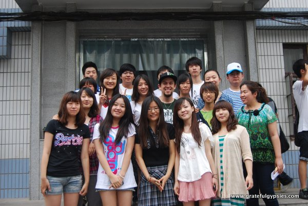 One of my many ESL classes over the years.