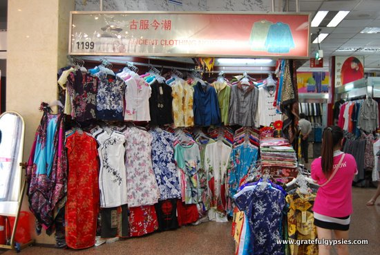 Pick up some sweet Chinese threads.