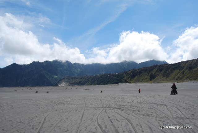 Sea of Sand at Mt. Bromo