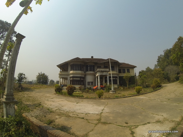 Former home of a Shan Prince.