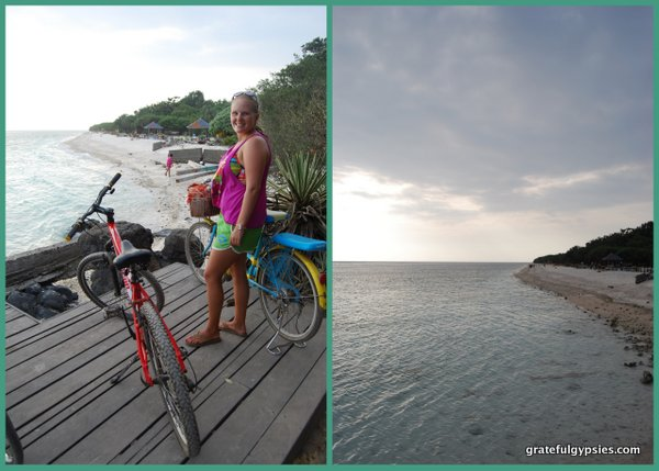 Cycle around the island.