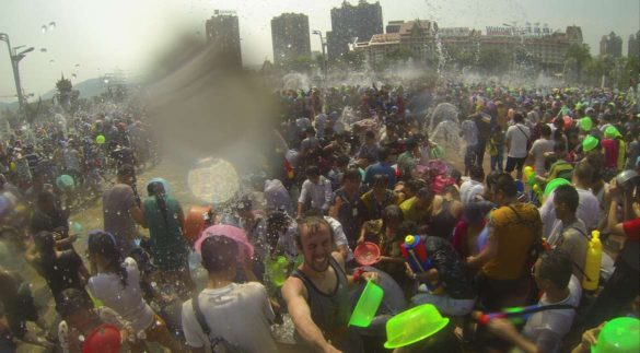 Getting Wet and Wild During Songkran