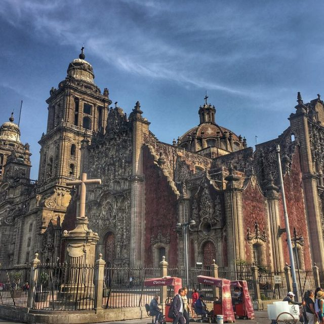 Mexicos churches are captivating and eerily beautiful This is thehellip