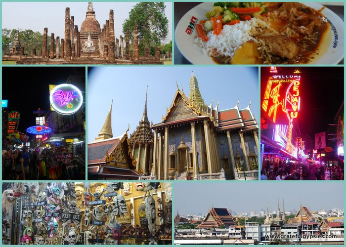 One Month in Thailand