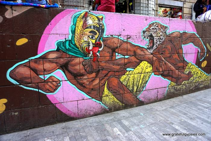 street art in Mexico