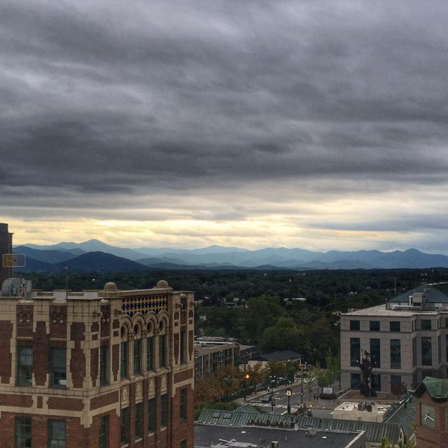 The Skybar in Asheville has some pretty incredible views andhellip