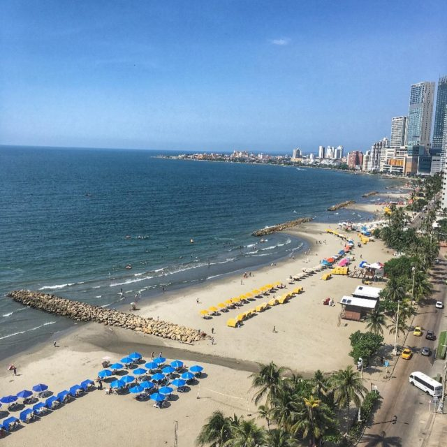 We made it to Colombia! Check out our view! Wehellip
