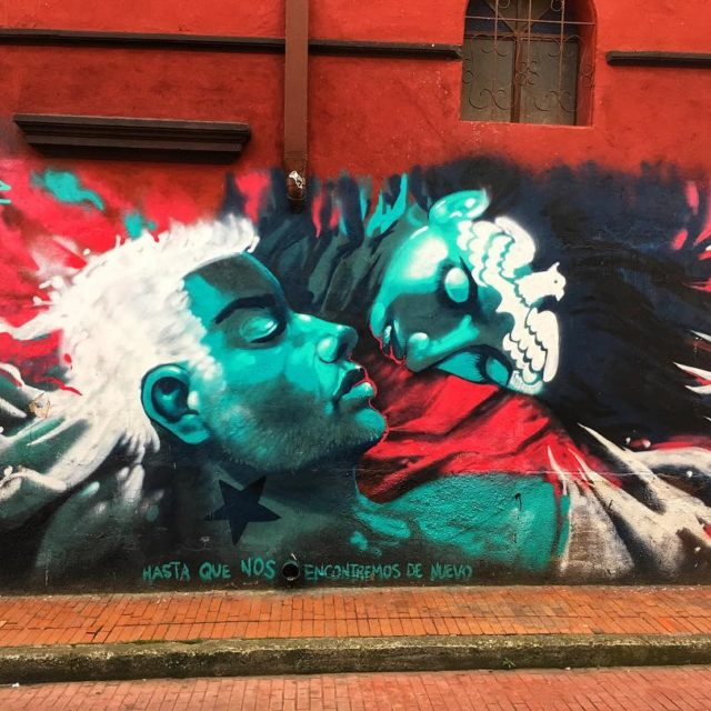 This is one of my favorite murals in Bogota kiptoe1hellip