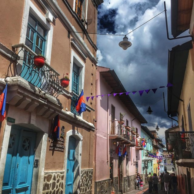 Head to the colorful street of Calle La Ronda onhellip