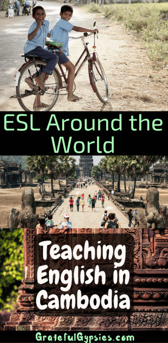 teaching English in Cambodia
