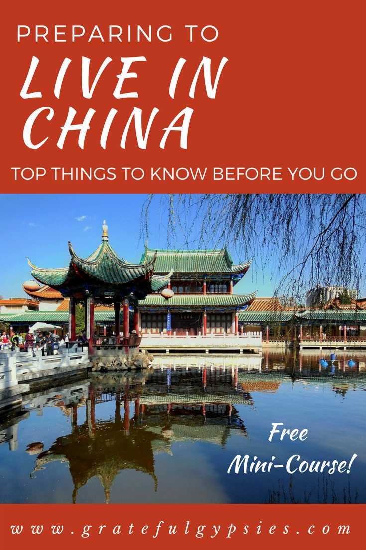living in China | China travel