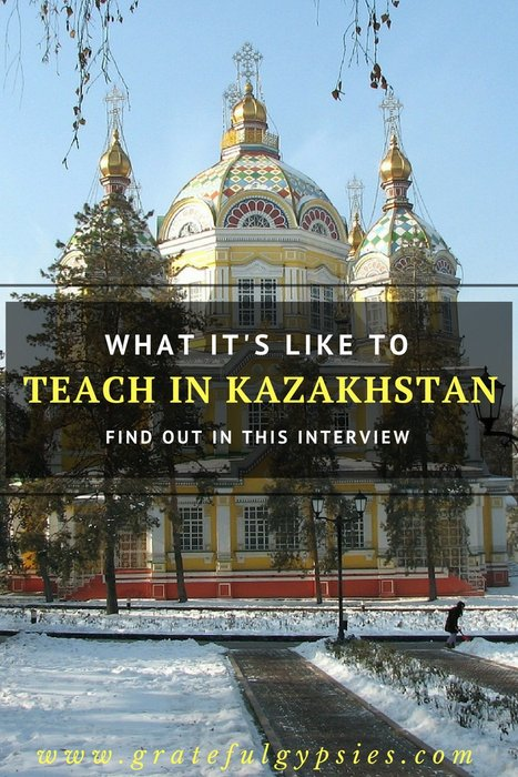 teach in Kazakhstan