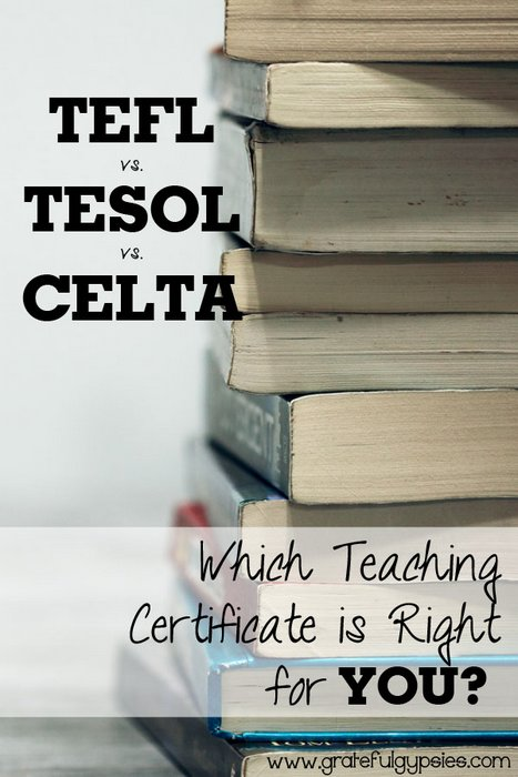 TEFL vs. TESOL vs. CELTA: Which Certification is Right For You?