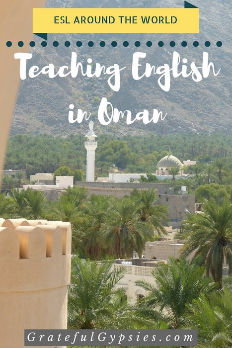 teaching English in Oman
