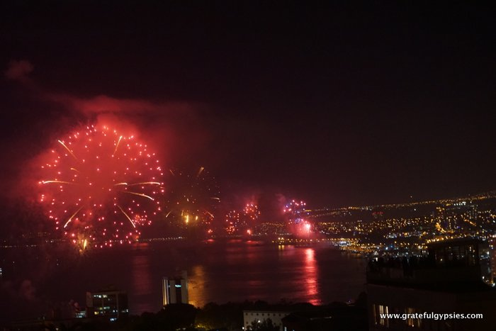 New Year's Eve in Valparaiso